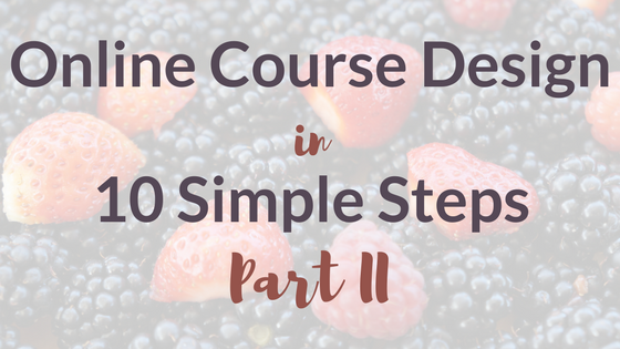 Online Course Design Part II: Pre-Sell Your Course